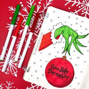 21 Christmas Bullet Journal Ideas You Can Copy - I