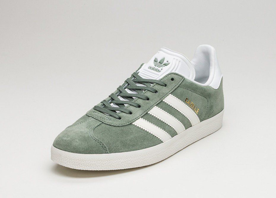 adidas Gazelle (Trace Green / Off White / Ftwr White)