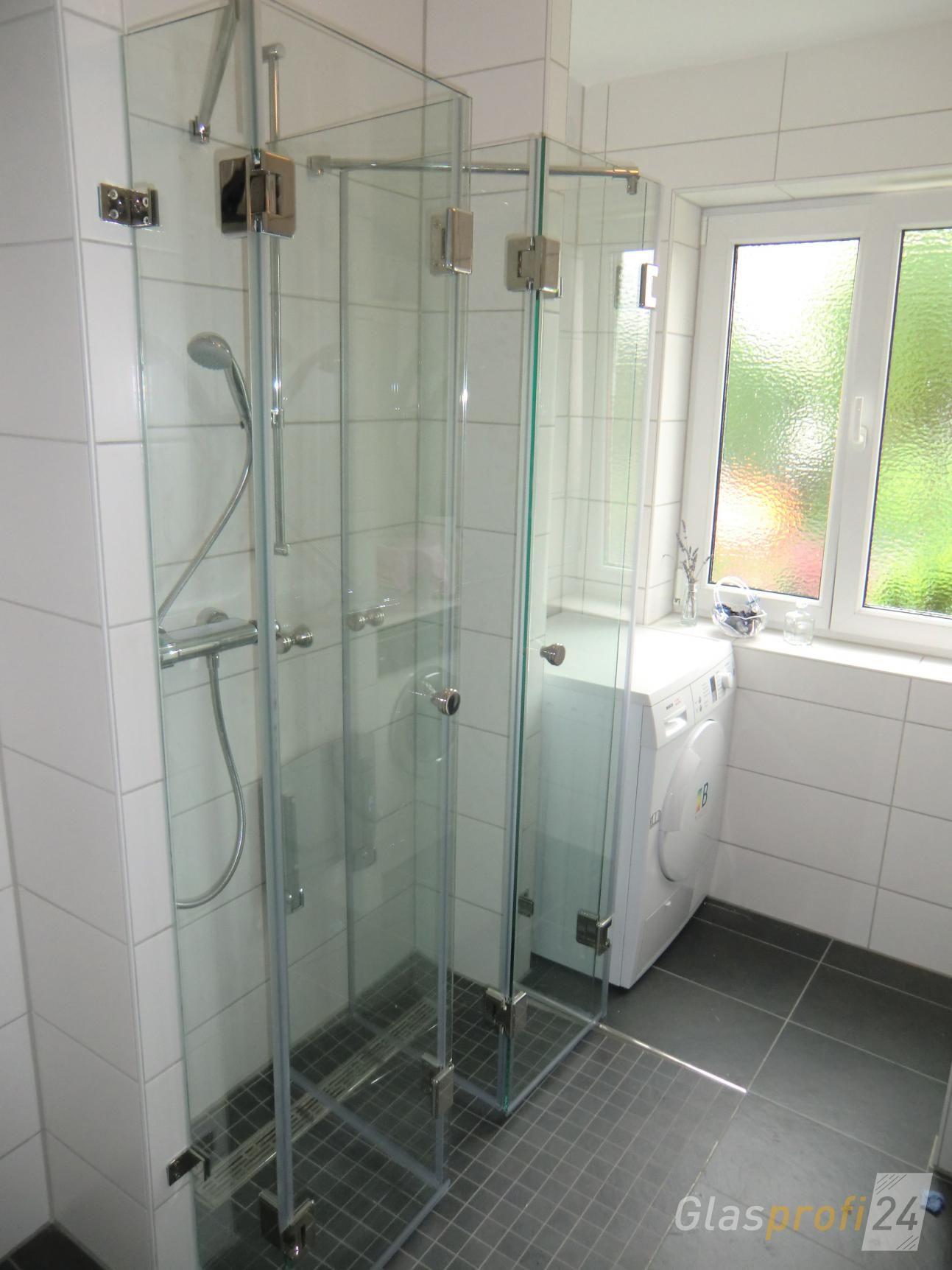 Faltbare Duschkabine aus Glas GLASPROFI24 Duschkabine