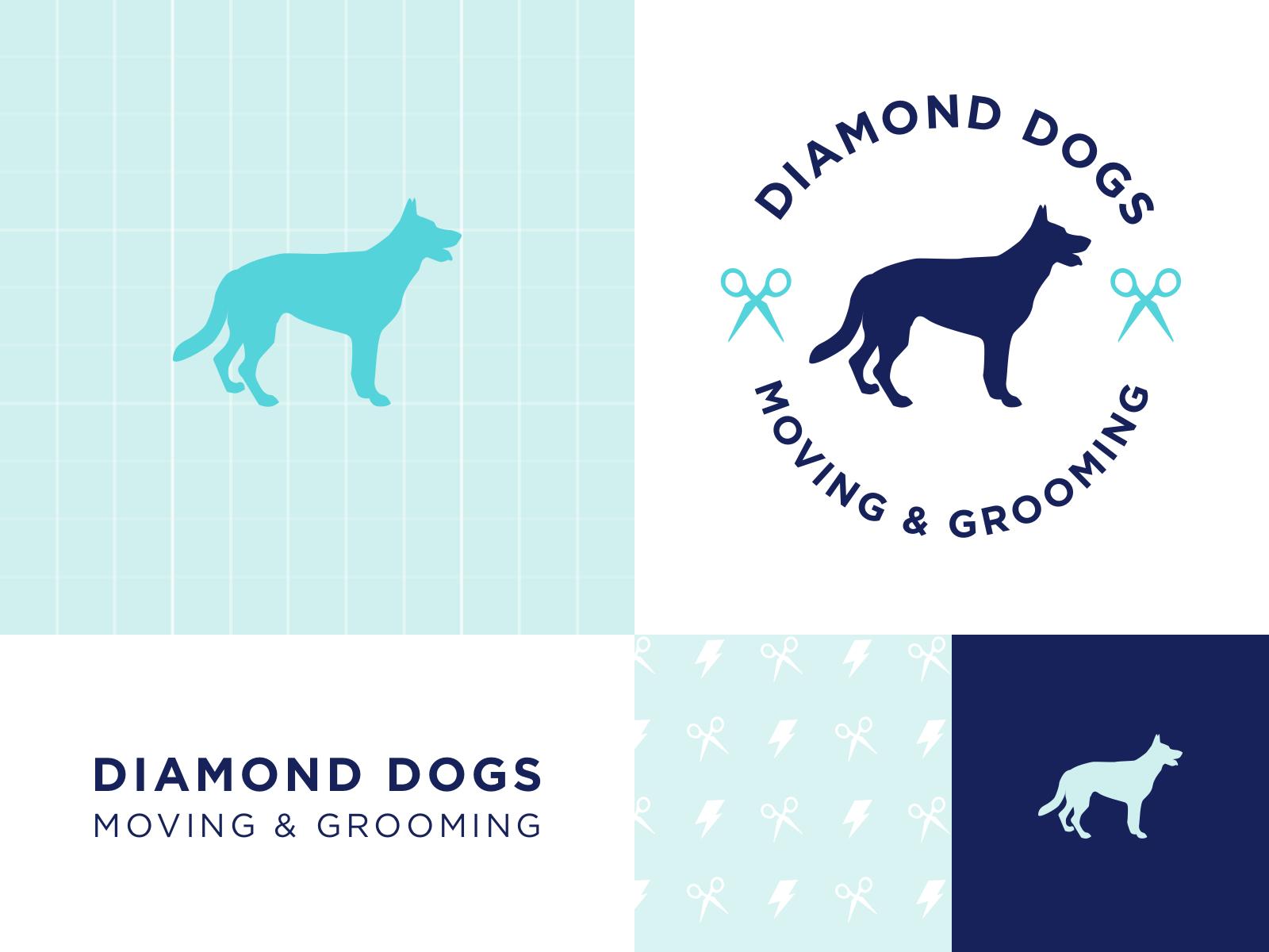 Diamond Dogs Logo Summary Dog Logo Diamond Dogs Dogs