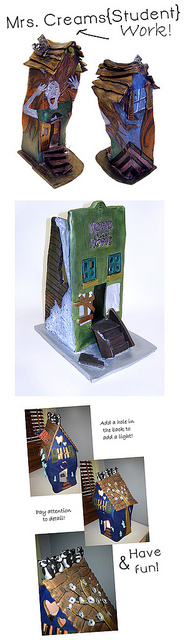 David Stabley-inspired clay houses