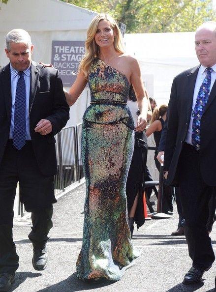Heidi Klum spotted in New York for Fashion Week