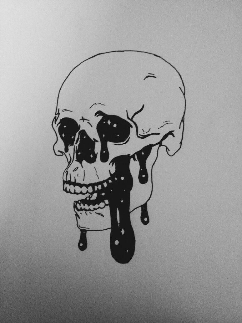 Drawing Tumblr Skull Tat 39 Trendy Ideas Skull Tattoo Design Skulls Drawing Sketch Tattoo Design