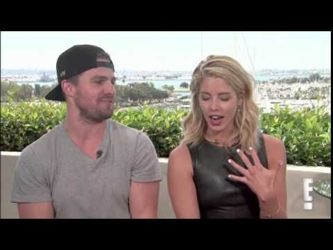 Stephen Amell and Emily Bett Rickards Talk Olicity in Season 4