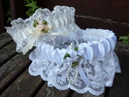 A Plus Size Garter For Wedding Is Accessories Which Usually Used By The Bride On Her Day Made From Lace And Some