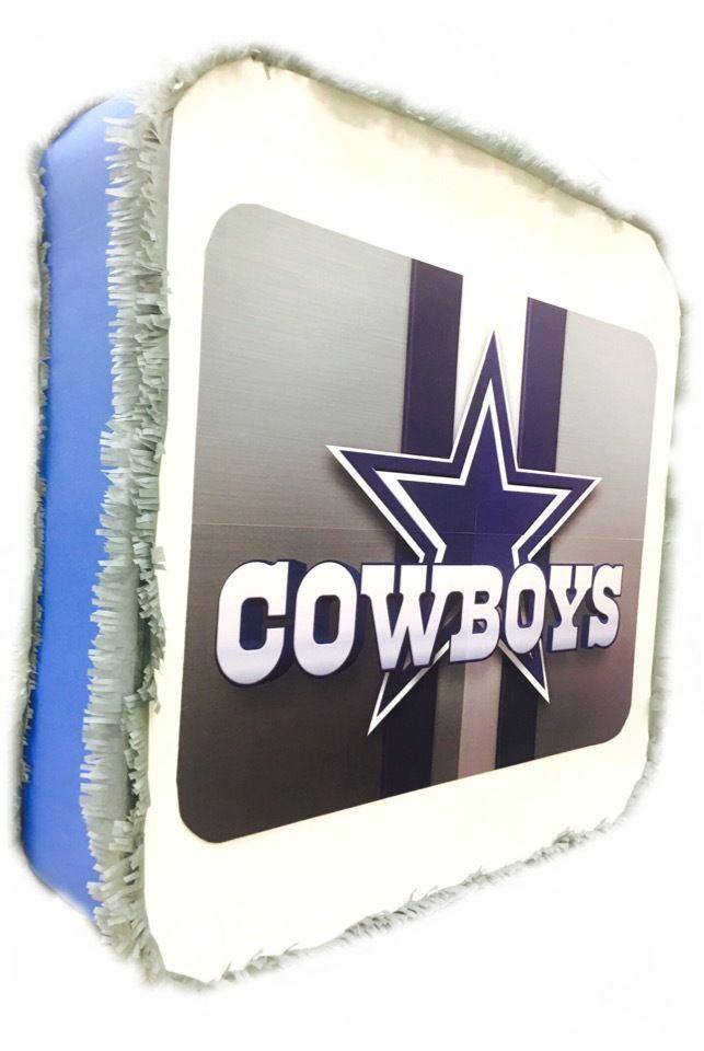 Custom handmade Dallas Cowboys Pinatas / Casa Pinatas Party Store