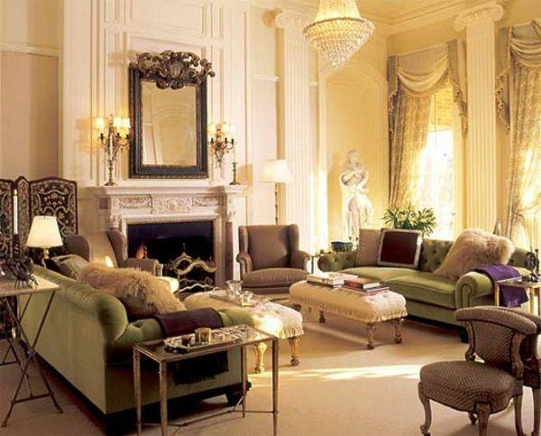 Elegantes Wohnzimmer Einrichten Viktorianisch