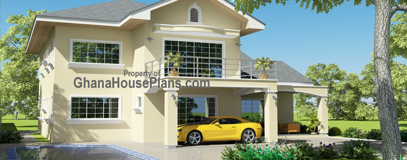 Pool House Plans for Ghana, Nigeria, Liberia, and All