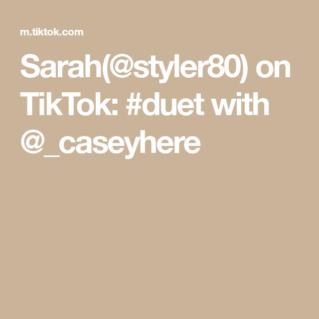 Sarah Styler80 On Tiktok Duet With Caseyhere Future Mommy Duet Sarah