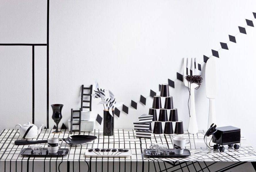 Black and white party, styling Jenni Juurinen | Deko