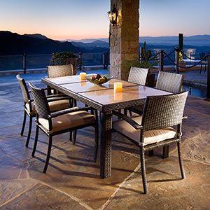 Portofino Signature 7-piece Dining Set | HOME: Outdoor ...