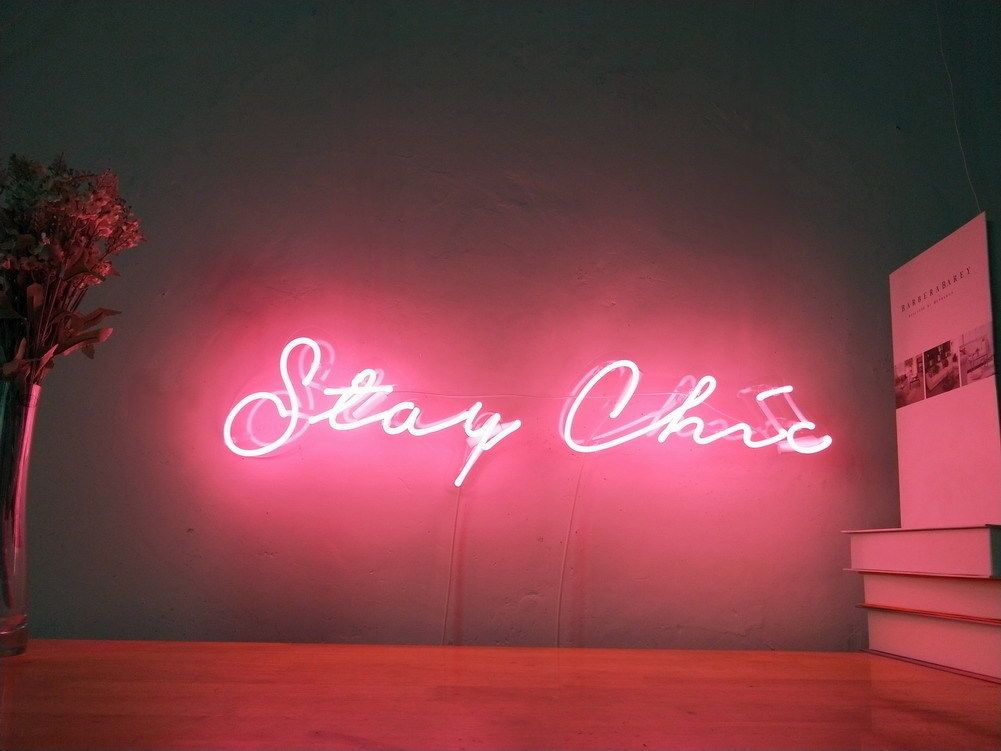 New Stay Wild Neon Sign For Bedroom Wall Home Decor Artwork Light With Dimmer