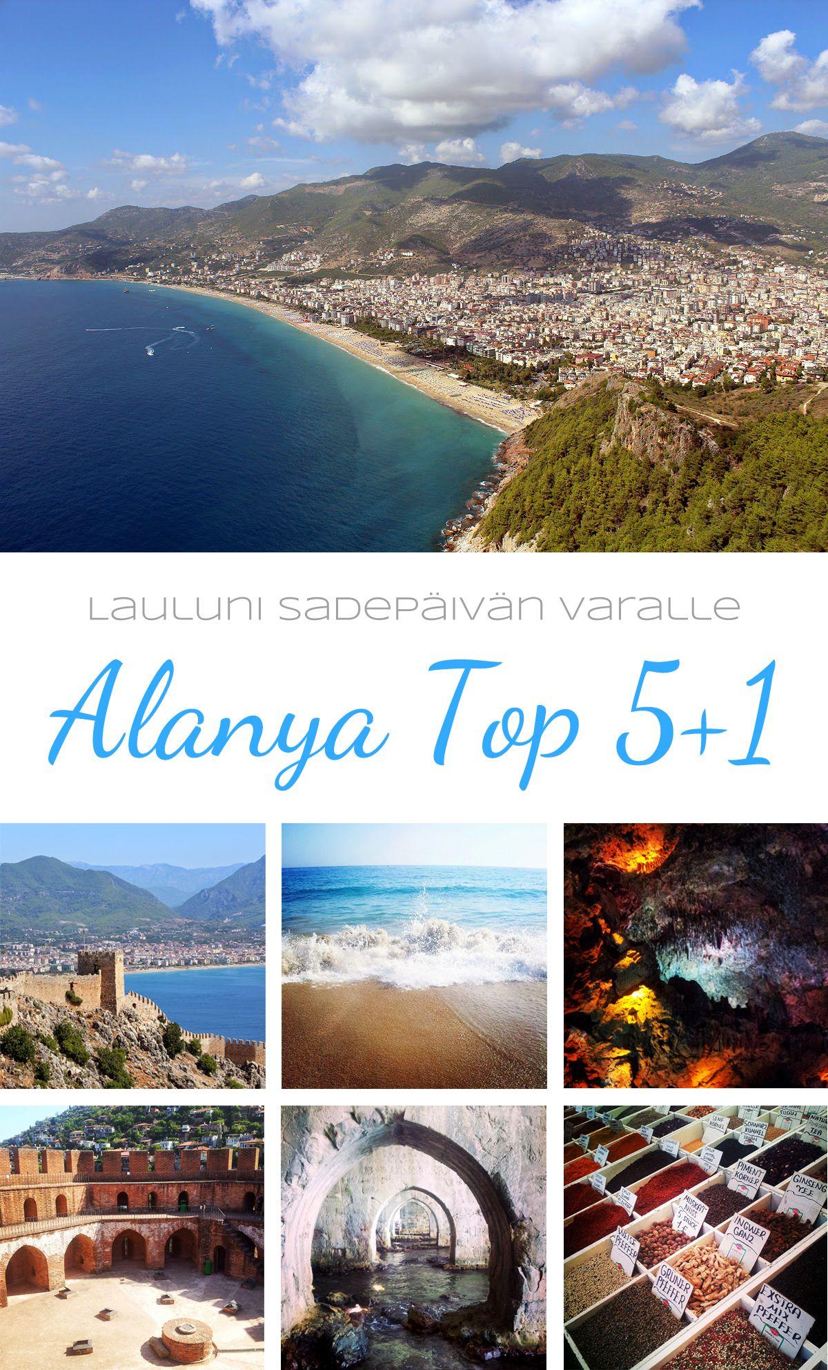 lauluni sadepäivän varalle:  Alanya Top 5+1 #alanya #nähtävyydet #attractions #turkki #turkey #travel