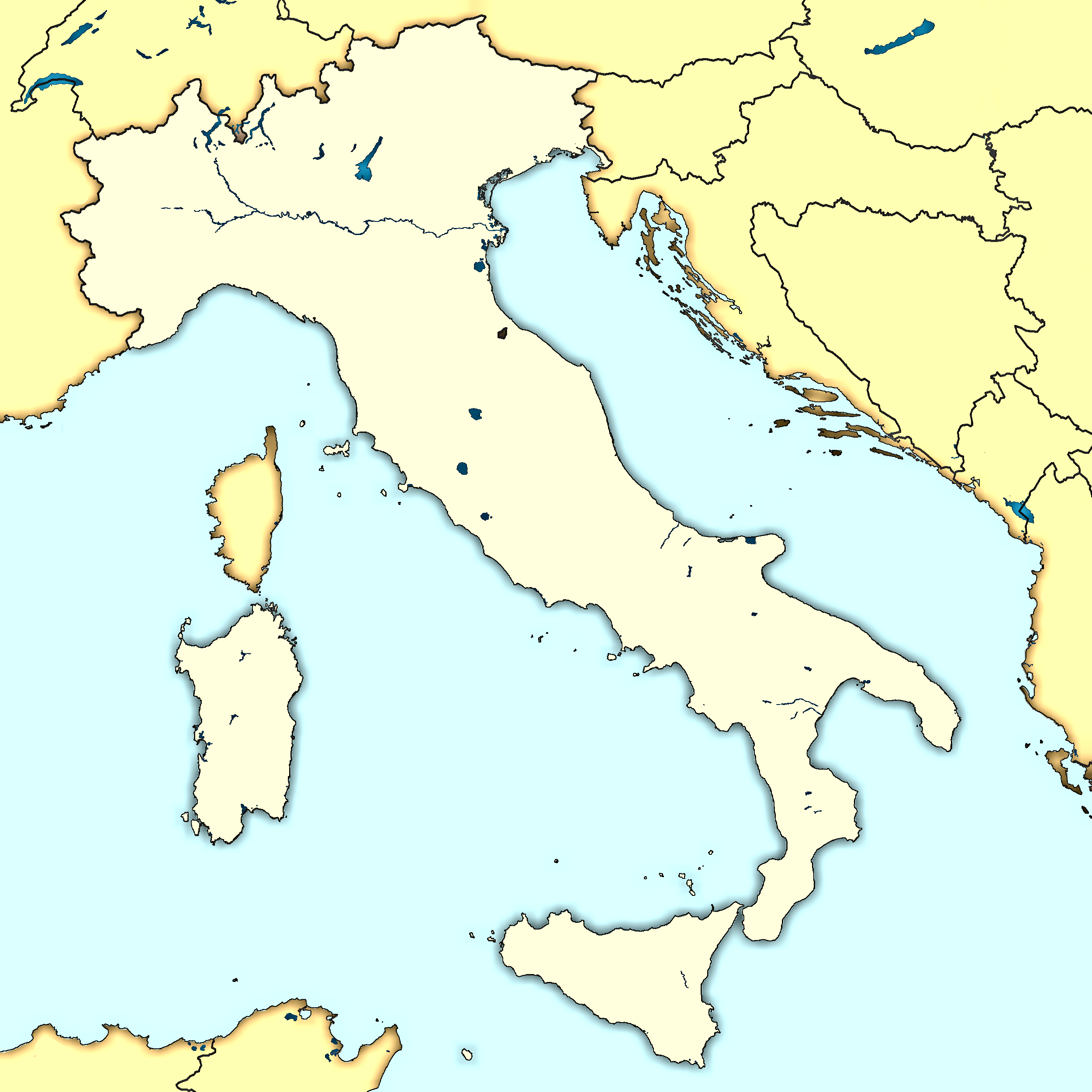 FileItaly map modernpng Italy Week Pinterest