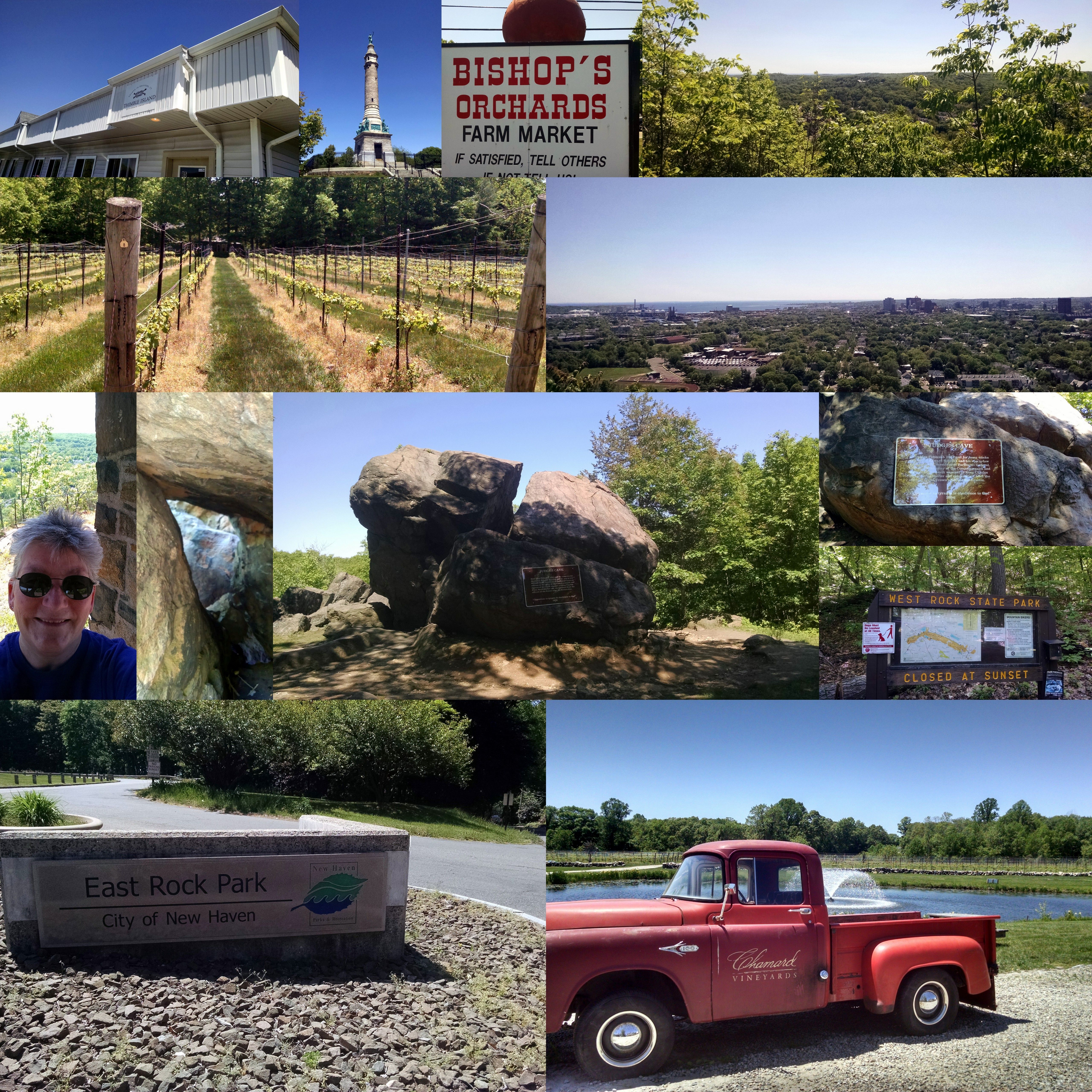 Chamard Bishops Orchard Plus Some Hiking At East And West Rock Love Exploring Ct Park City City Park