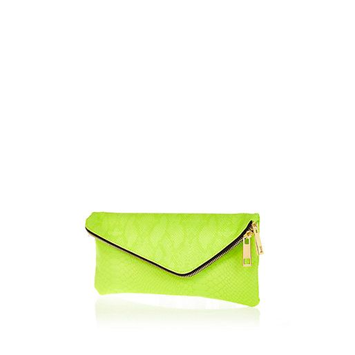 Lime Green Clutch Clutches Purse Wallet Bags Wedding Outfits