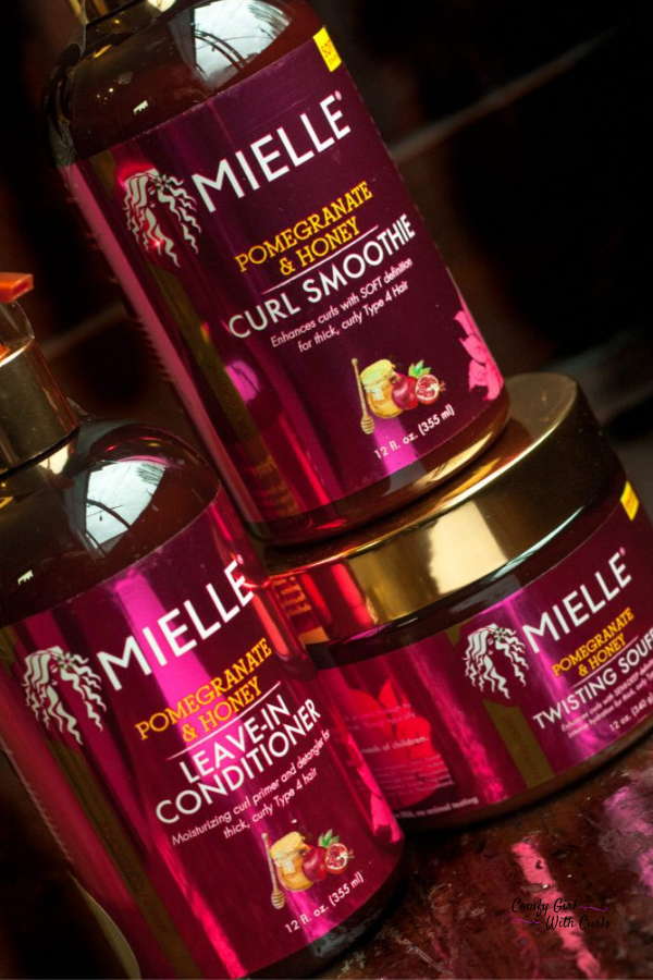 Mielle Organics Pomegranate and Honey Review #naturalhaircareproducts