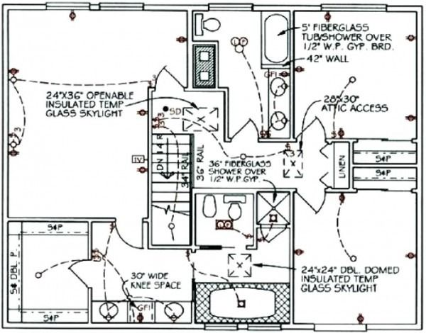 Symbols Of Electrical Plan Home Electrical Wiring Electrical Layout Electrical Plan