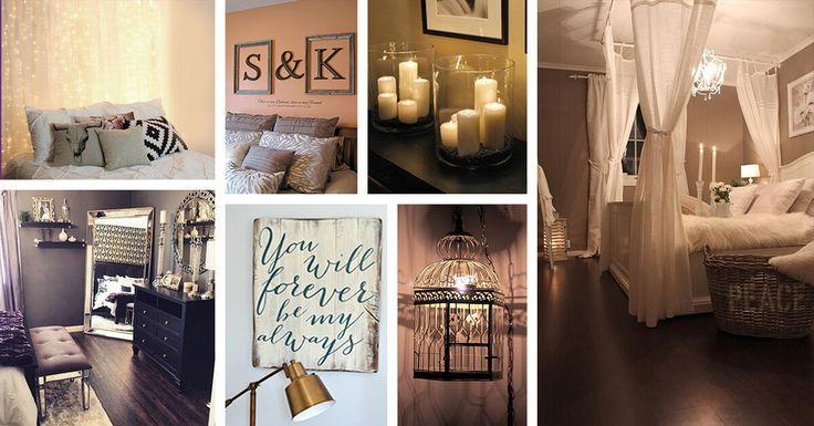 25 Romantische Schlafzimmer Dekor Ideen Um Ihr Zuhause Stilvoll
