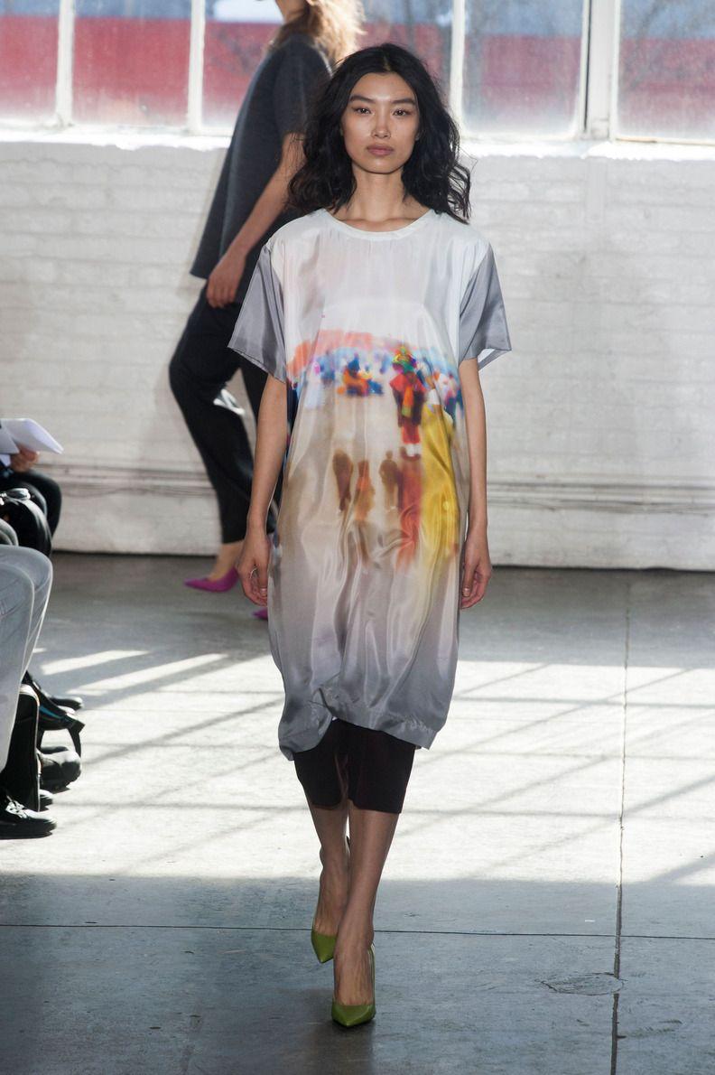 Défile Duckie Brown prêt-à-porter automne-hiver 2014-2015, New York #NYFW #Fashionweek