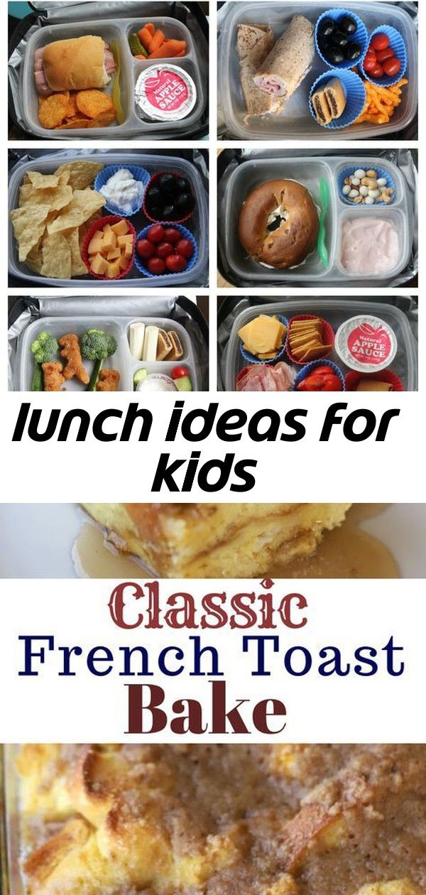Lunch ideas for kids A month of kidapproved school lunches  easy  creative ideas This is a classic French Toast Bake or Overnight French Toast recipe Its made with simple...