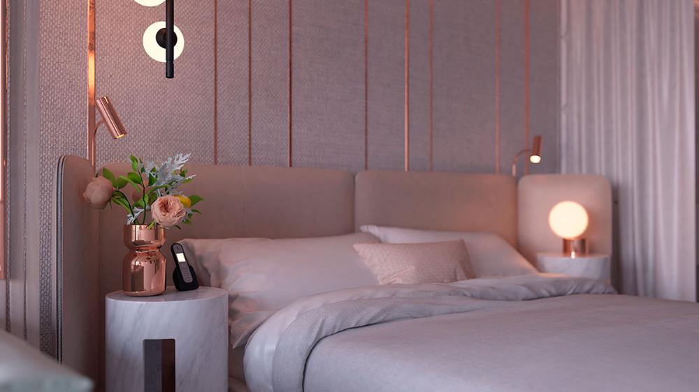 Studio Suite Hotel Room On Behance Dizajn Dom Interer