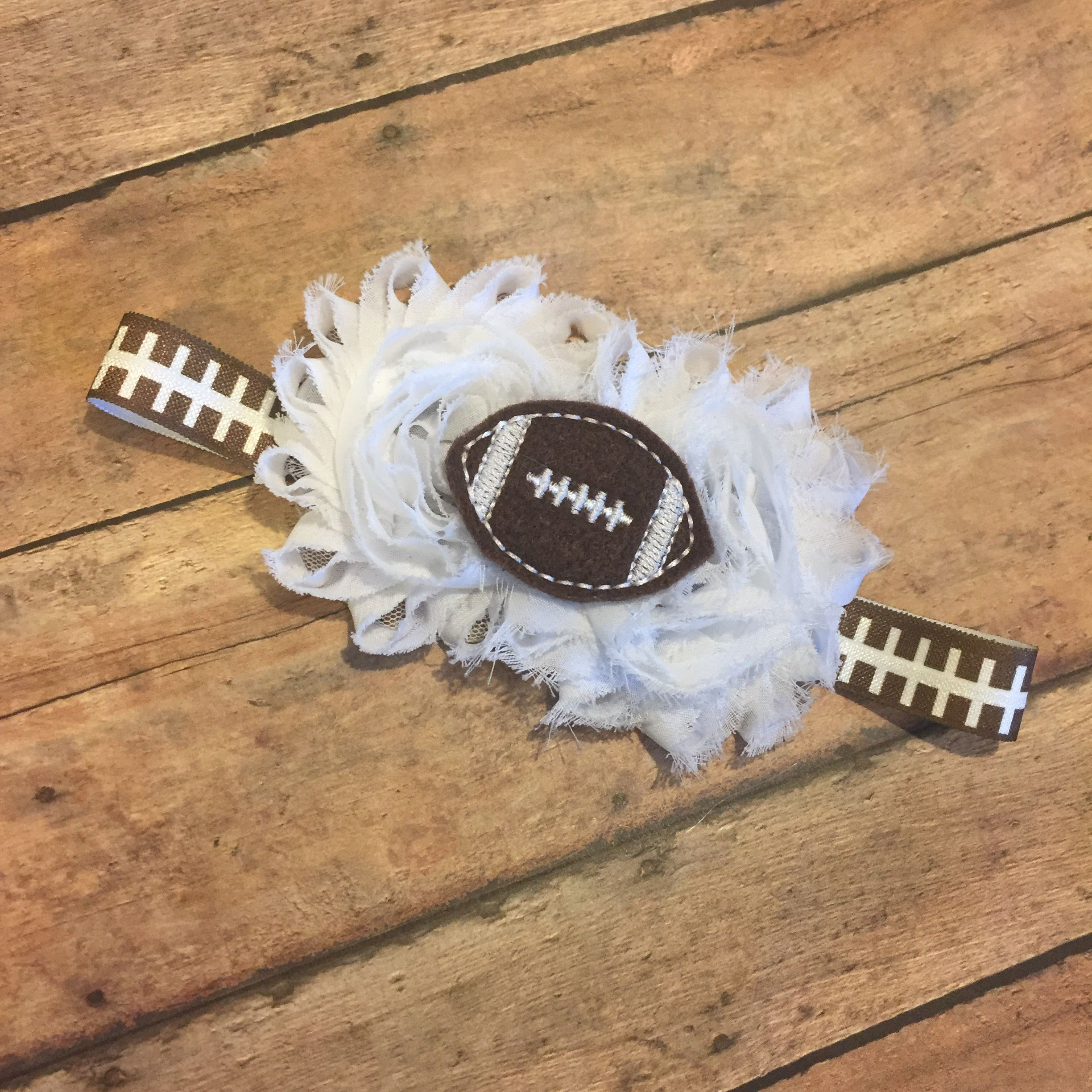 Some like to display their team colors all the way! Some like to be neutral and go basic football which this headband works perfectly for!! #bowtifulblessings #bbgifts #etsy #etsyseller #etsyshop #etsyusa #customorder #headband #football #custom #customize #babygirl #babyfashion #fall #fallyall #fallhairbow #fallfashion #smallbusinesslove #smallshop #entrepreneur #handmade #fan #sports
