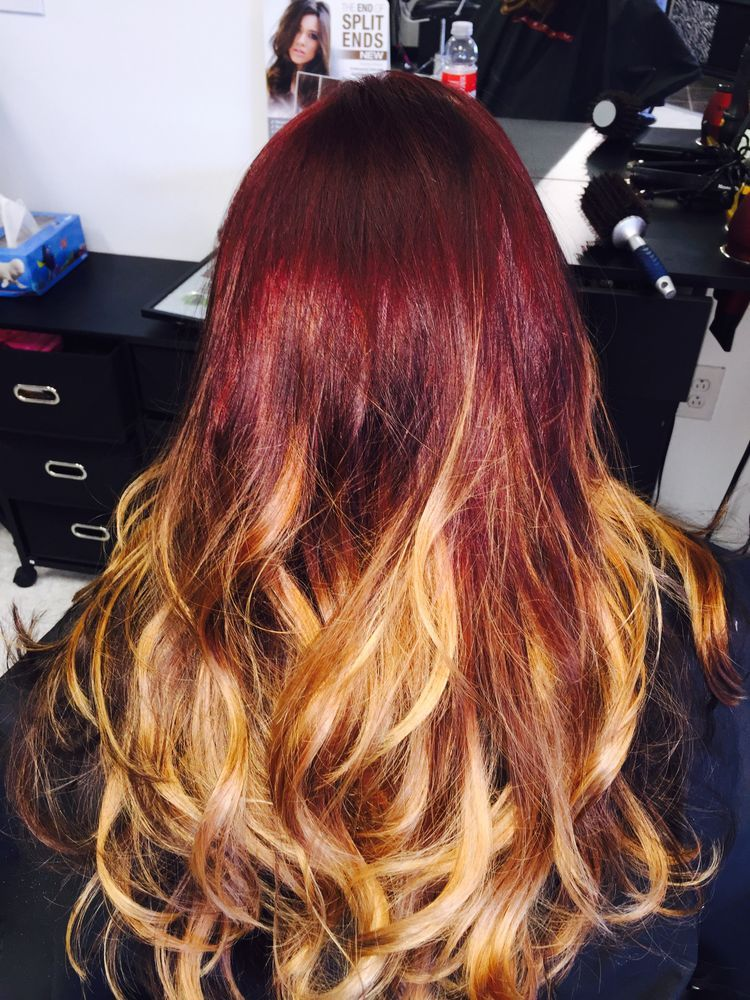 67 Ombre Hair Color Ideas For Blonde Brown Blue Balayage Hair Hair