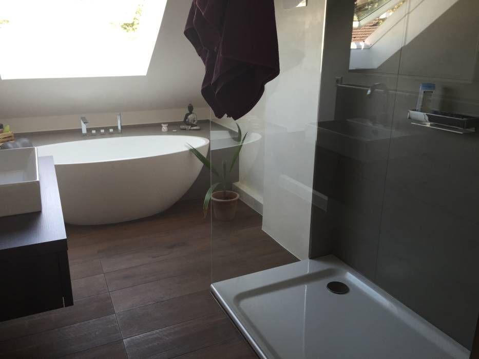 Moderne Badezimmer Bilder: Einbau Dokumentation Eines Badeloft Kunden  Anhand Der Freistehenden Badewanne BW 04