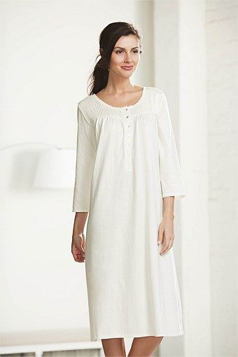 Mia Lucce Cotton Pin tucked Nightie Long Sleeves at EziBuy New Zealand. Buy  women s 6526188a7