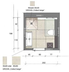 Grundriss: optimale Planung für ein kleines Bad | Bathroom ...