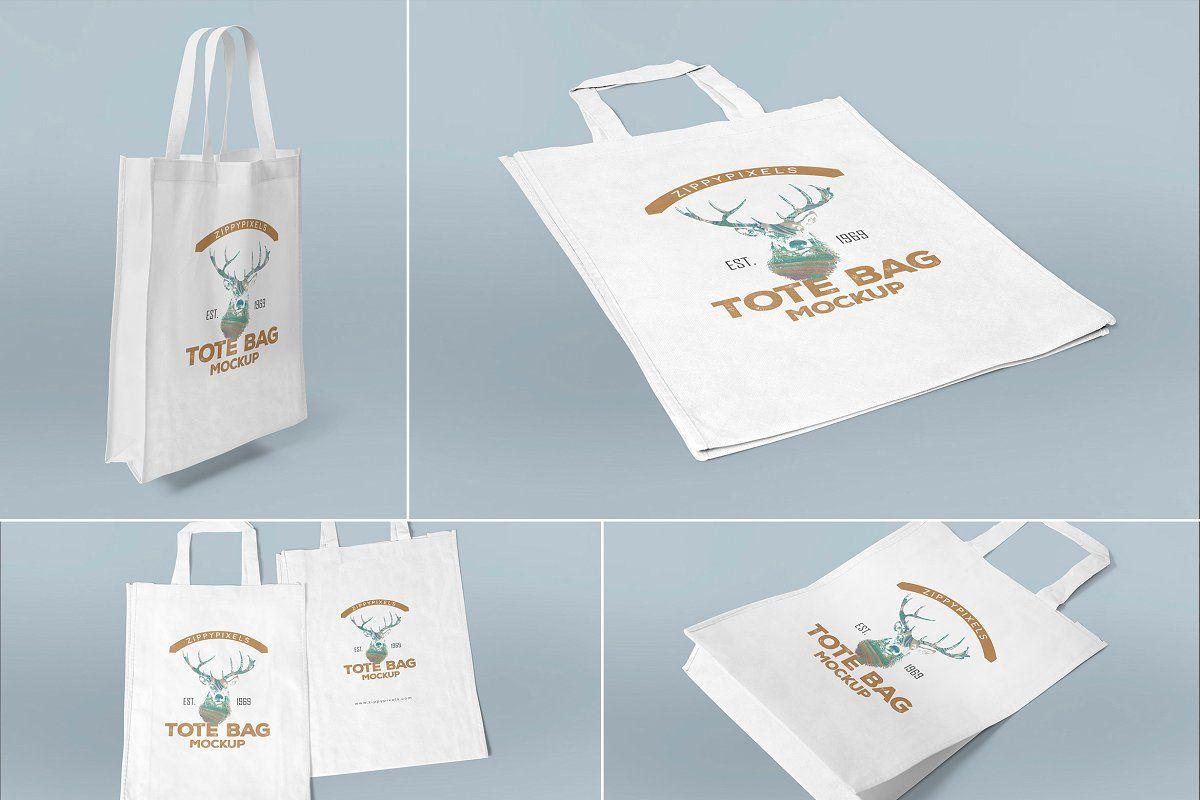 Download Tote Bag Mockups Tot Bag