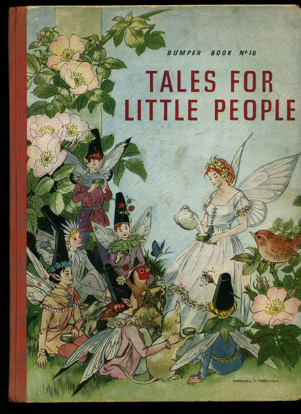 Tales For Little People 1947 Book Cover Art Old Children S Books Vintage Book Covers