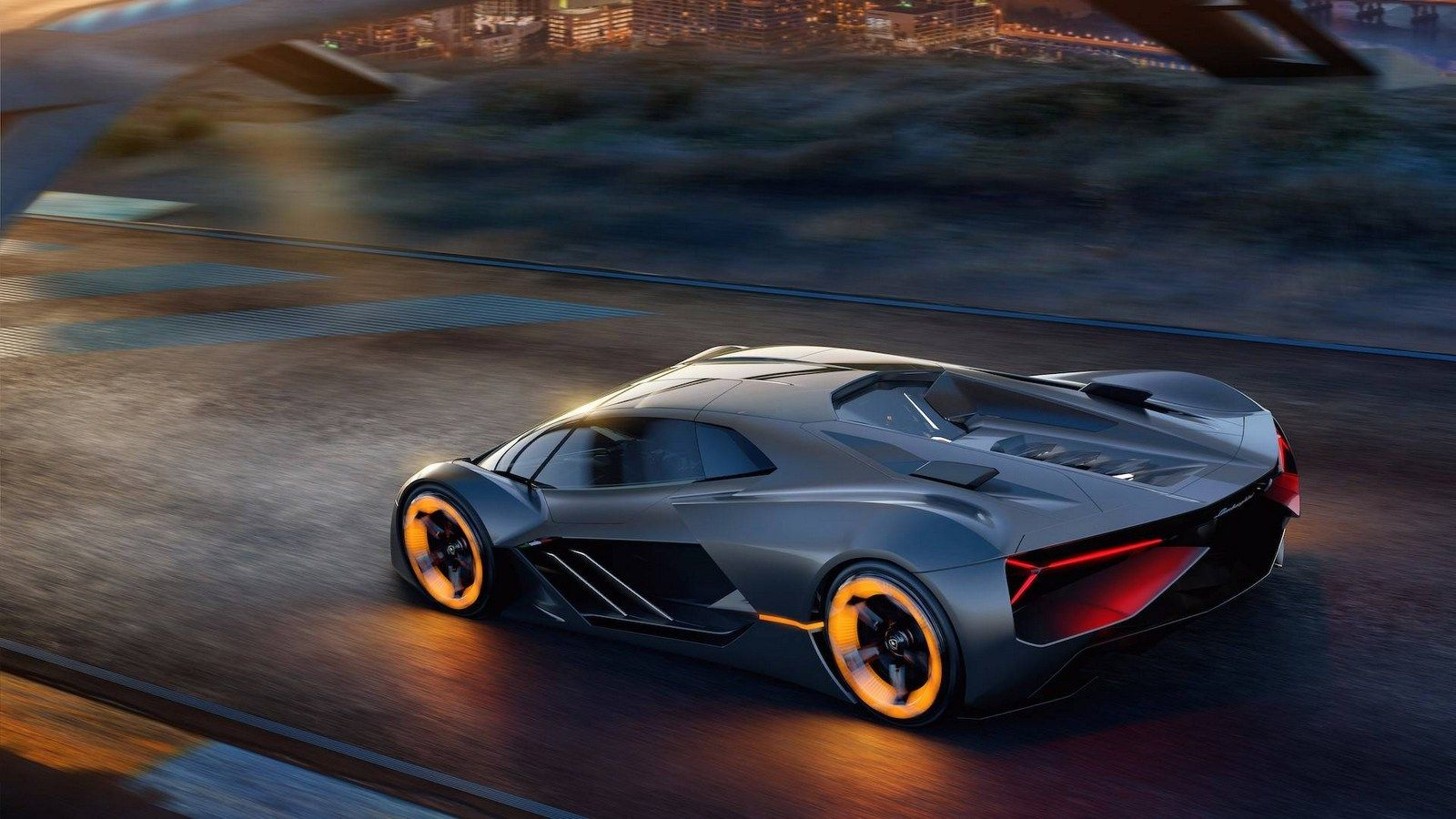 Lamborghini Terzo Millennio Concept Is A Supercar For The Third Millennium With Images All Electric Cars Super Sport Cars Sports Car