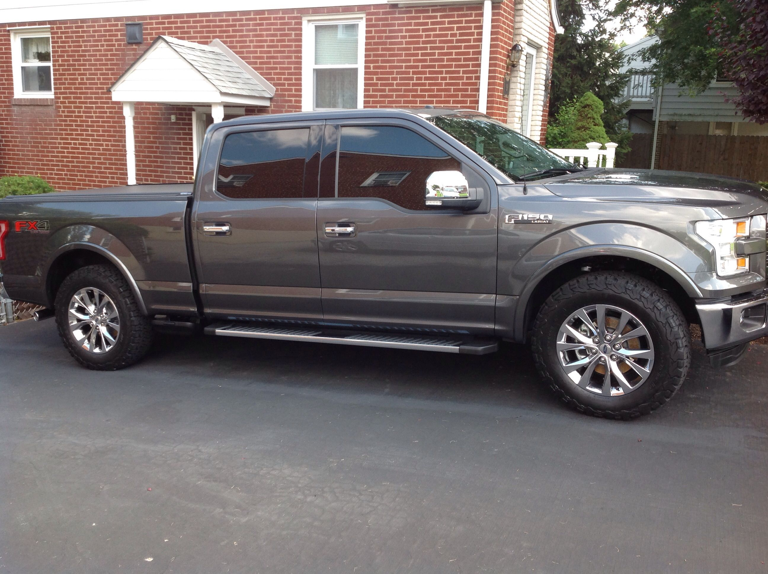 Largest Tire Size On Factory 20 S With No Level Image Jpg Tyre Size Ford F150 F150