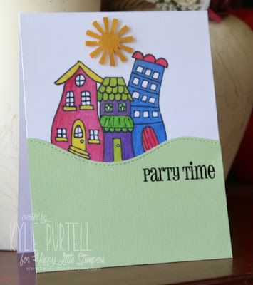 Happy Little Stampers: Bold Birthday Sentiments by Kylie Purtell