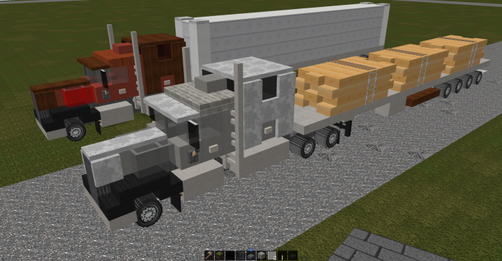 Kenworth W900 Sleeper  Download Now Up  Minecraft Map  With Images