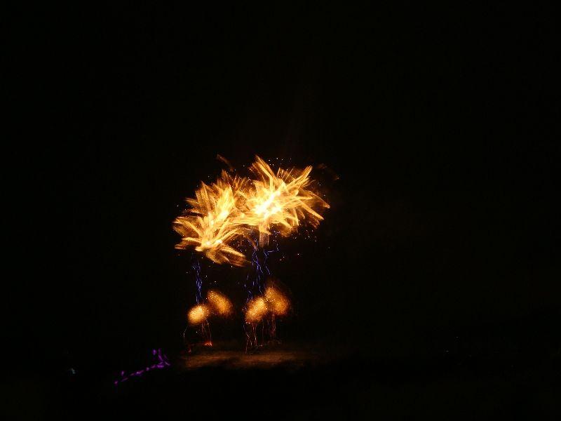 fireworks. santos/sp