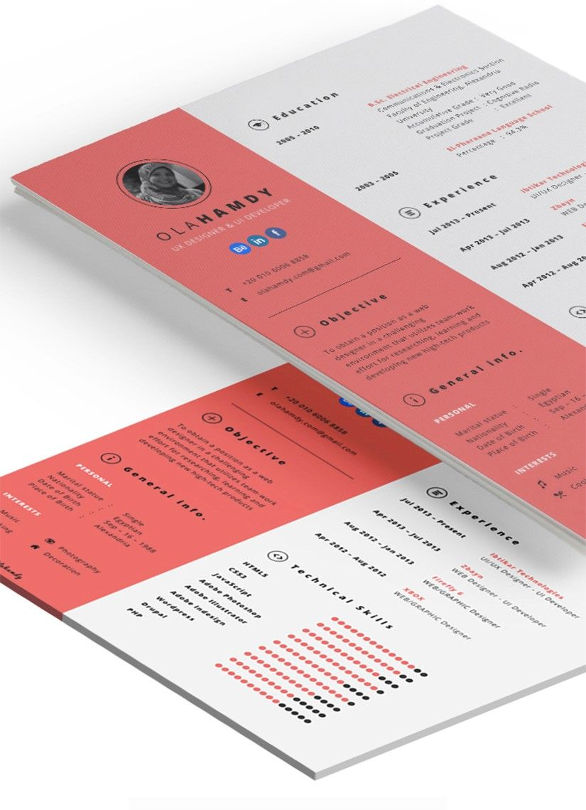 77 free creative resume templates to download in 2020