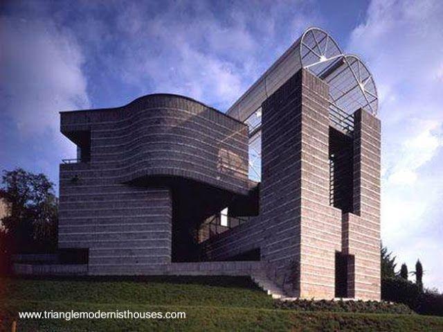 Residencia Estilo Posmoderno En Breganzona Ticino Suiza
