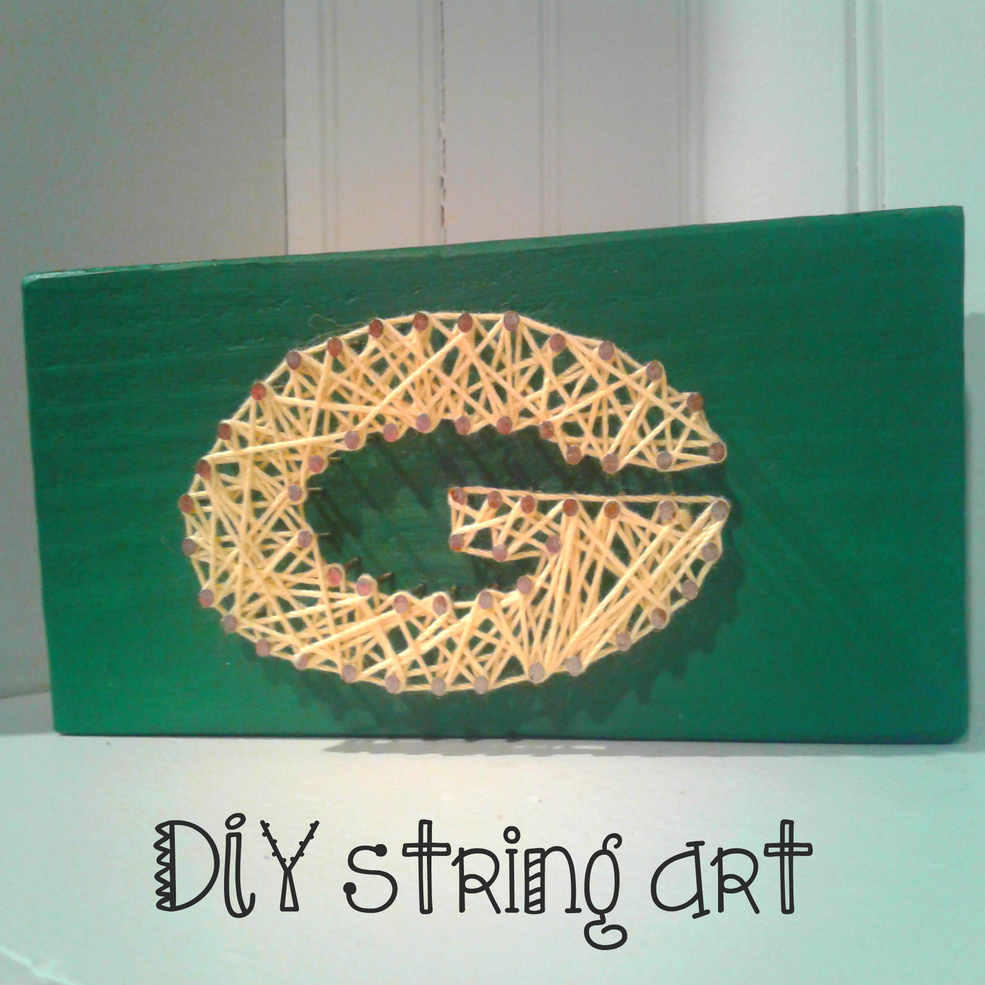 Go pack go packers string art how to make your own diy string art packers string art how to make your own diy string art solutioingenieria Images