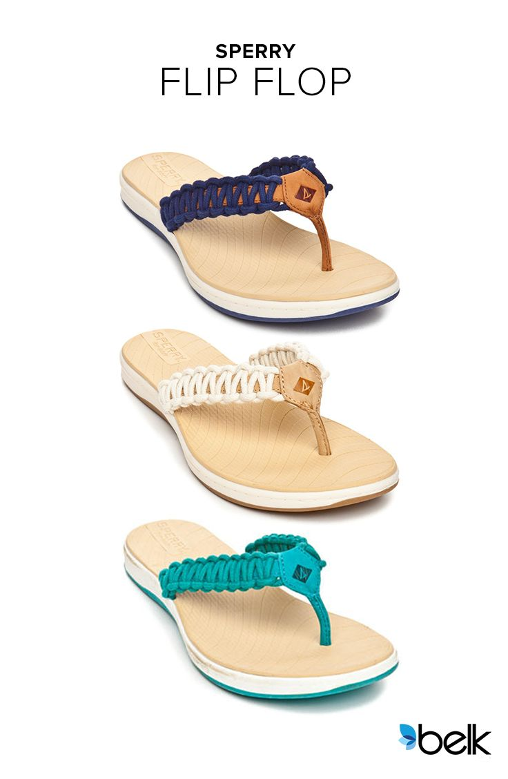 7983fe25586d Find all the things you love about your favorite Sperry flip flops. These  summer must