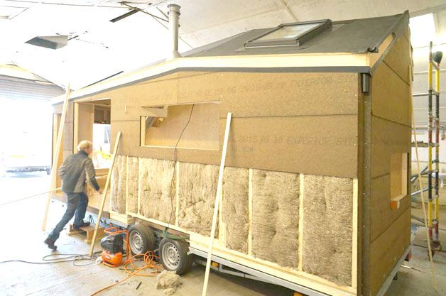 Building an Eco friendly Tiny House for Off The Grid Living http