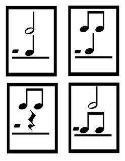 O For Tuna Orff: Music Math Cards