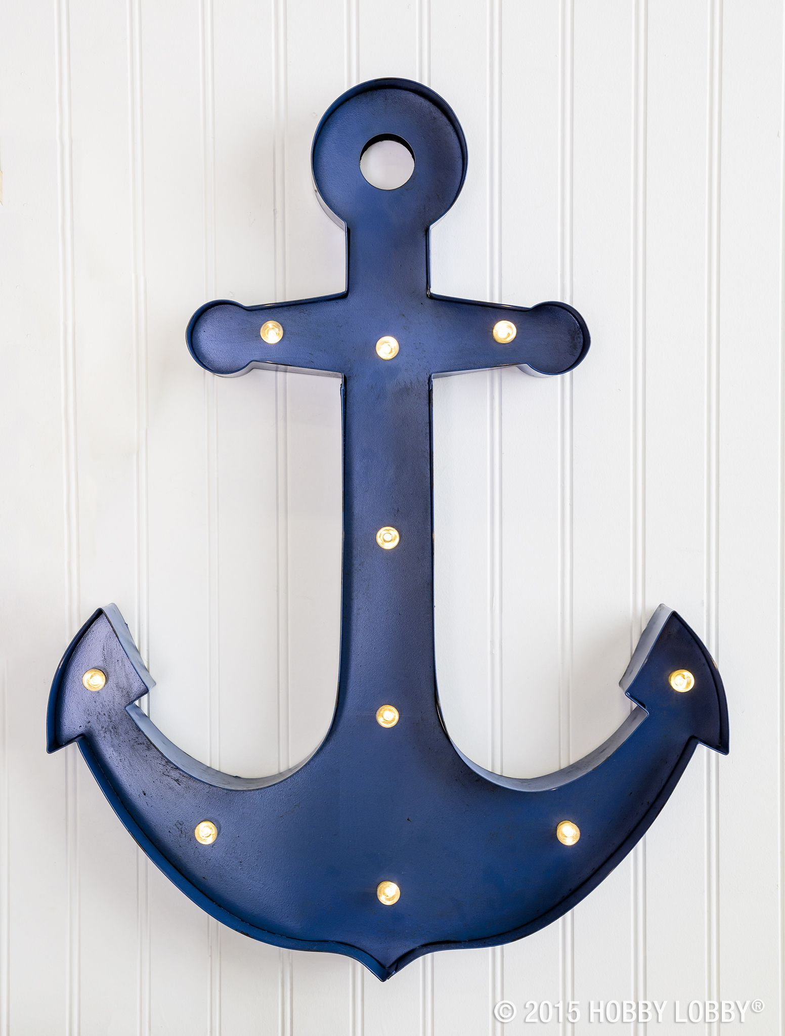 Anchors Away... New Nautical Decor Is On Itu0027s Way! Give Your Home A Touch  Of The Sea Life With This Blue Beauty.