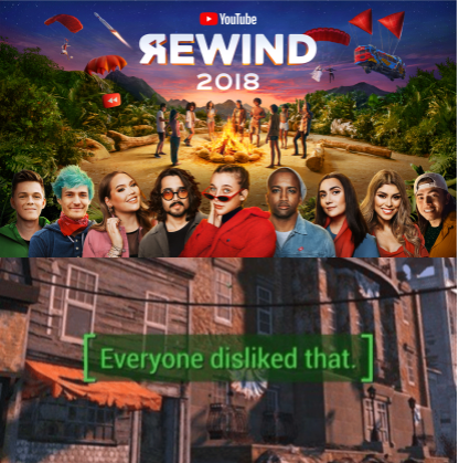 The Internet Reacts To Youtube Rewind 2018 Youtube Youtube2018 Youtubememes Funnymemes Funnyyoutubememes Memes Fu Youtube Rewind Bad Memes Youtube Memes