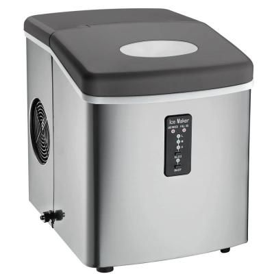 Igloo 26 Lb Freestanding Ice Maker In Stainless Steel Ice103 At