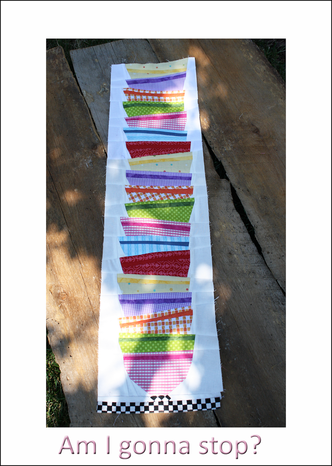 !Sew WE Quilt!:  Bowls with Borders table runner