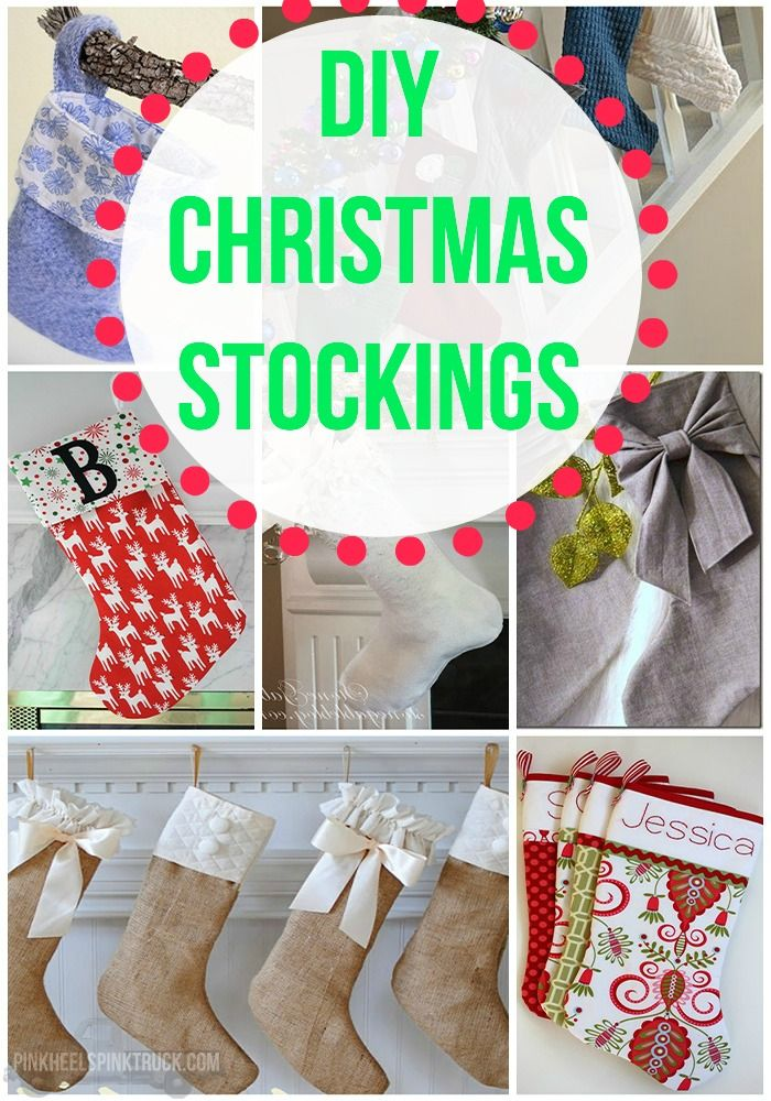 have you made your own christmas stockings yet no check out my roundup of diy christmas stockings