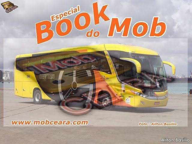 SÉRGIO JOSÉ- ÔNIBUS ALAGOAS: Book do MOB : Qualidade e um ótimo Visual.